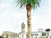 the tall palm of  vejer-kathryn hockey artist illustrator