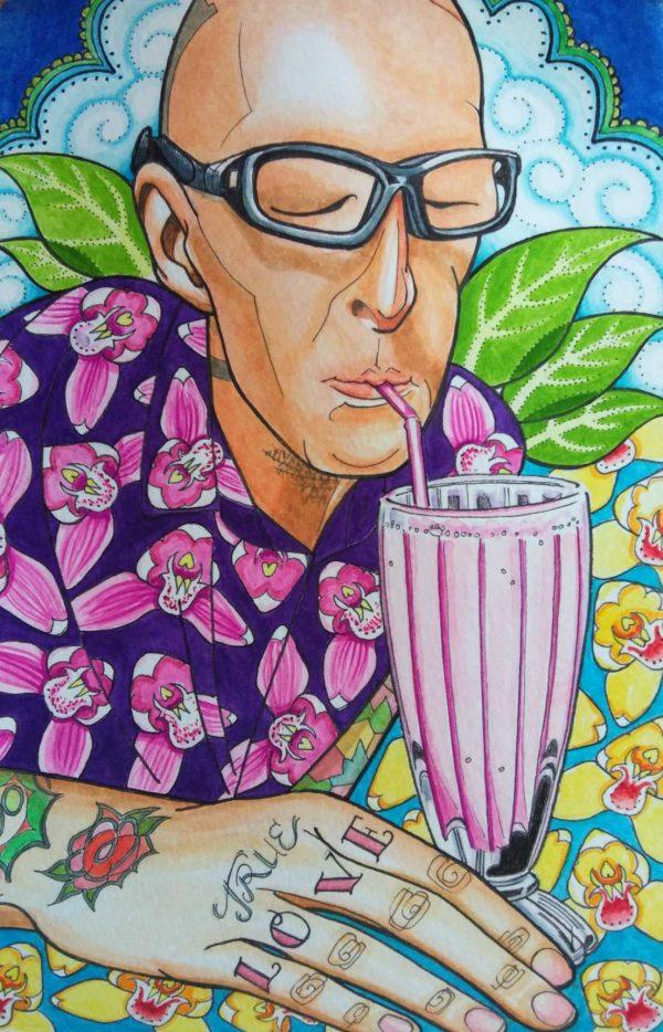 true-love-lassi-watercolour-portrait-kathryn-hockey-artist-illustrator