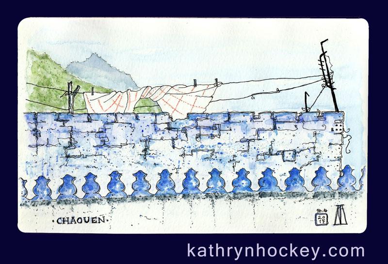 casa-perleta-chaouen-kathryn-hockey-artist-illustrator-web