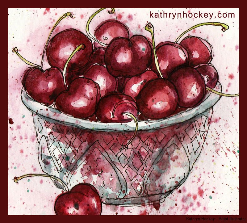cherries-28.6.16-kathryn-hockey-artist-illustrator-web
