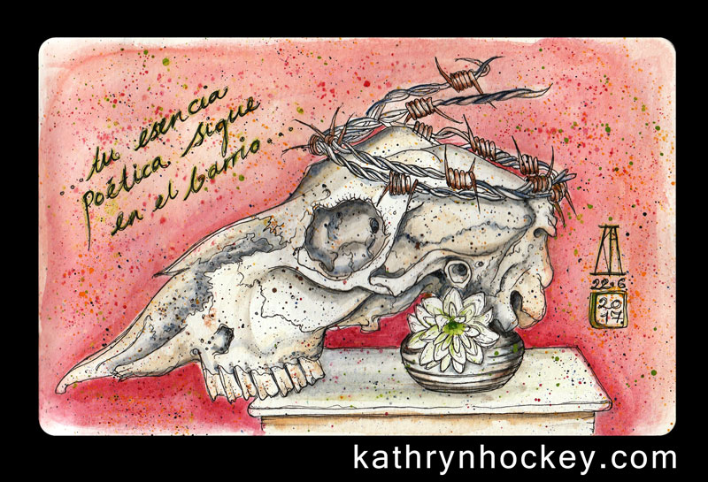 skull-and-flower-kathryn-hockey-artist-illustrator-web