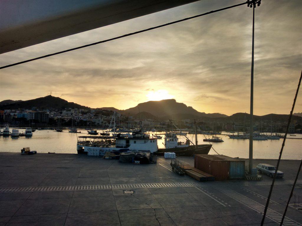 mindelo, sao vicente, cabo verde, cape verde, ferry, port, boat