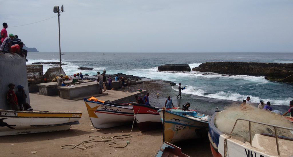 santo antao, ponta do sol, cape verde, cabo verde, fishing, boats, nets, floats