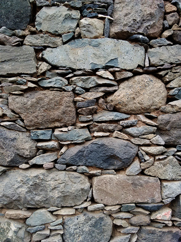 paul valley, santo antao, cape verde, cabo verde, africa, dry stone wall