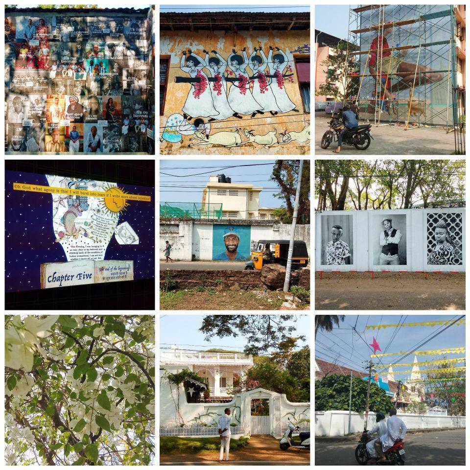Fort Cochin, Kerala, Kochi, India, biennale, art festival, street art, murals