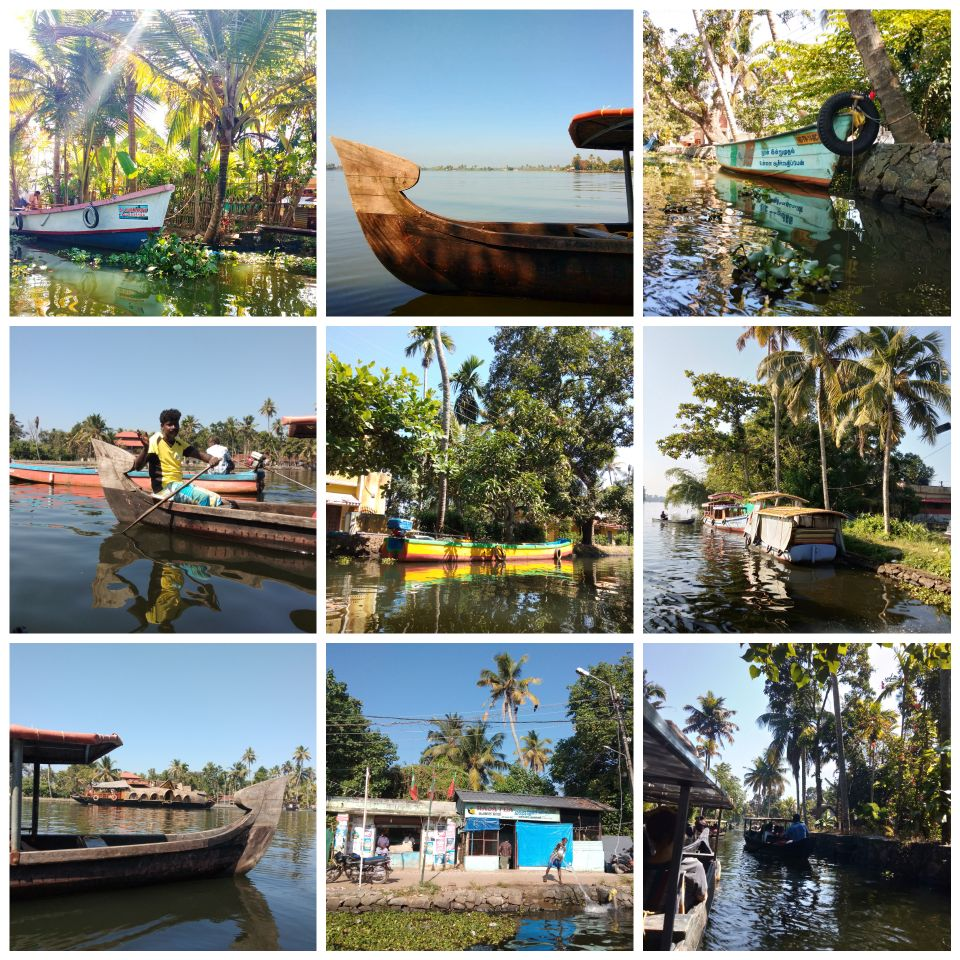 kalappura, alleppey, kerala, india, backwaters, boat, tour, trip, ferry, canoe, kayak, canal, flood, palm trees, house boat, travel