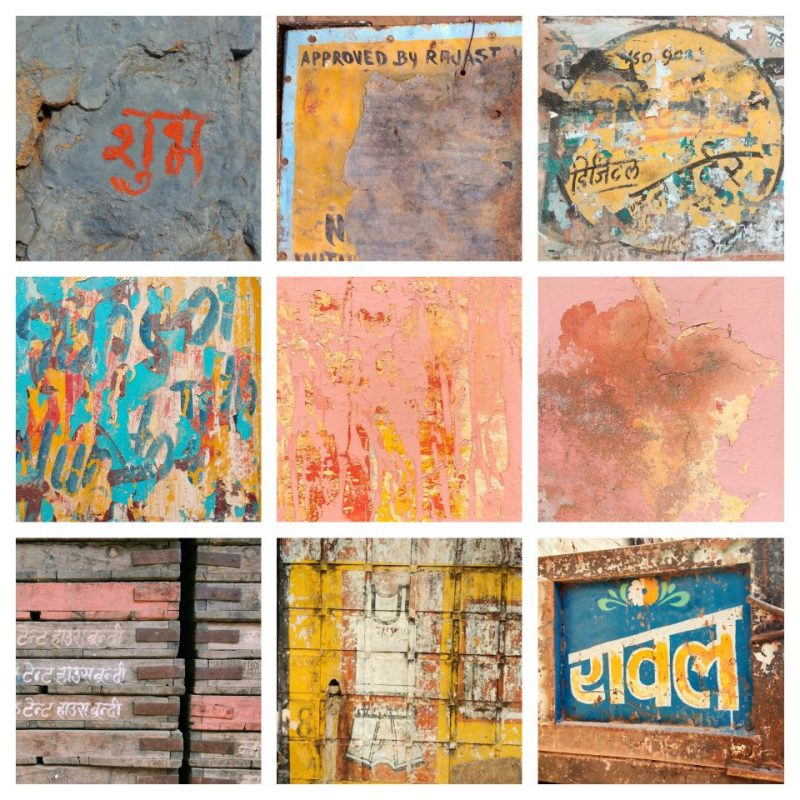 bundi, rajasthan, india, colours, texture, abstract, street photography, wanderlust, travel blog, travel photography, wall painting
