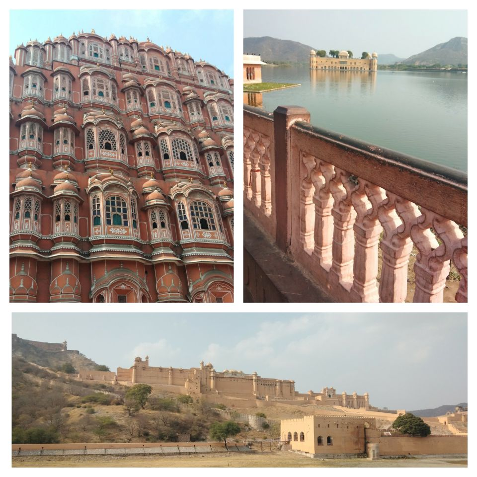 jaipur, rajasthan, india, pink city, fort, palace