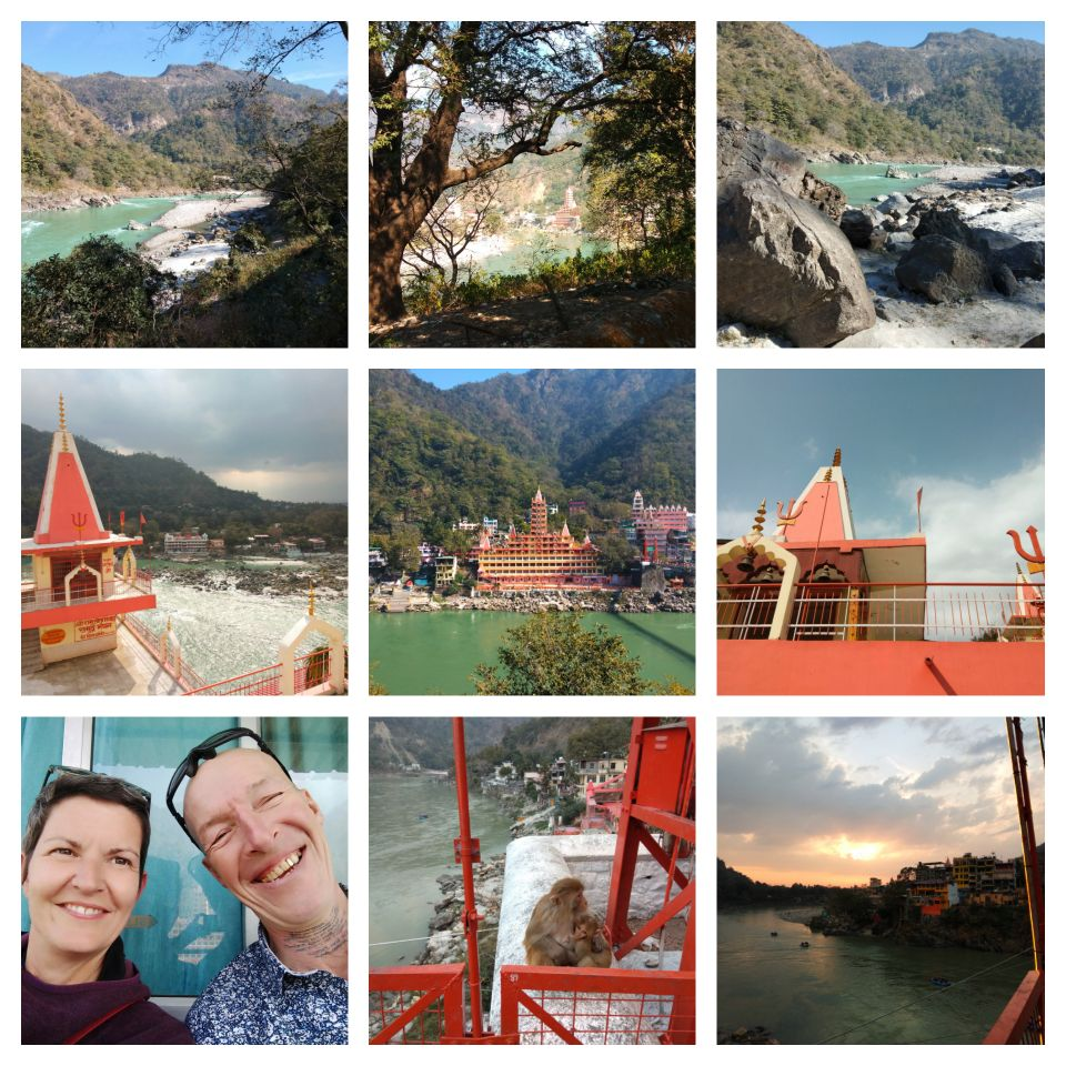 rishikesh, uttarakhand, india, laxman jula, river ganges, ganga, sacred, temples, hiking