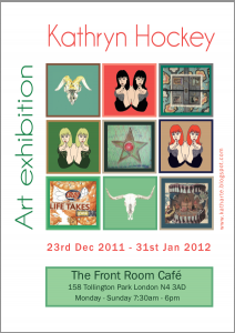 Front Room Cafe, art exhibition, Kathryn Hockey