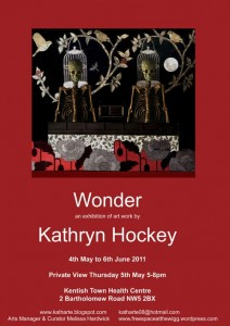 Wonder, Free Space Gallery, Kentish Town Health Centre, art exhibition