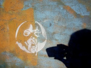 Stencil art, spray paint, street art