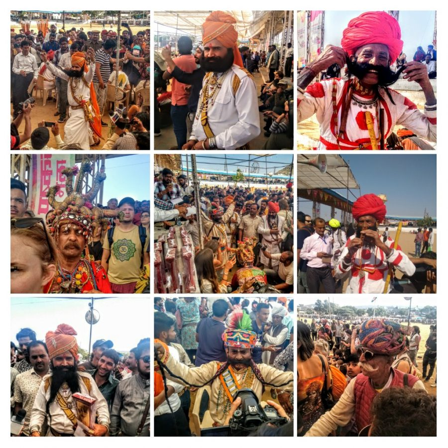 pushkar, moustache competition, moustache, beard, facial hair, rajasthani