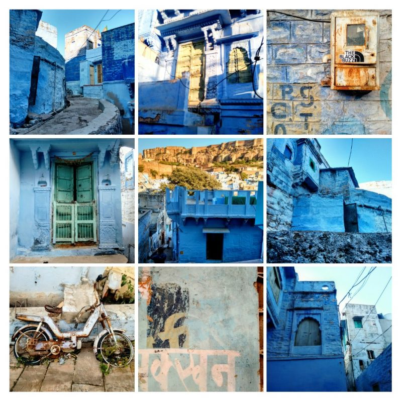 jodhpur, blue, blue city, rajasthan, india, travel blog, scooter, indigo, fort