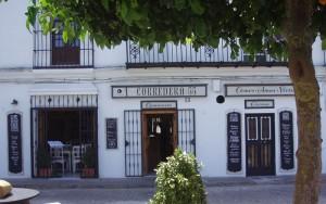 corredera 55, restaurant, califa vejer, vejer de la frontera, andalusia, facade