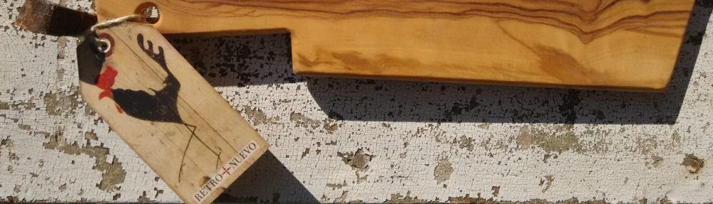 graphic design, cockerel, retronuevo, vintage, tag, tapas, wild olive, wood, chopping board