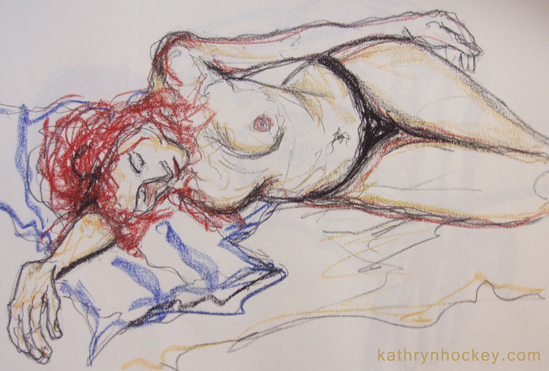 life drawing, model, sketching, vejer sketchers, charcoal, pastel