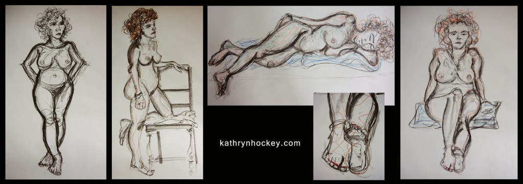 vejer sketchers, life drawing, charcoal, crayon, sketch