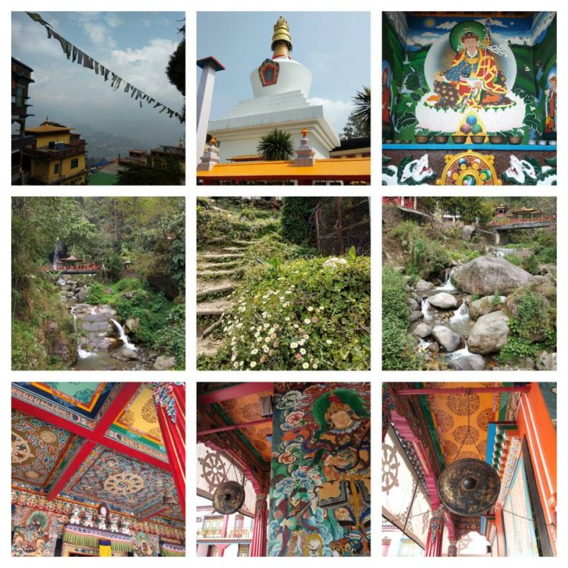 gangtok, sikkim, travel blog, travel photography, rumtek monastery, buddhist, monastery, chorten monastery, banjhakri waterfall, west sikkim
