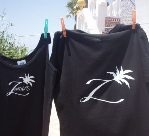 Zanzibar Chill t-shirts front-kathryn-hockey-artist-illustrator