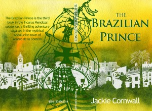 The Brazilian Prince, book cover, illustration, the icarus mendoza sequence