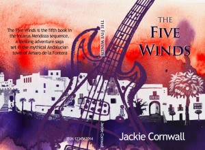 the five winds, book cover, illustration, the icarus mendoza sequence