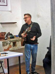 abraham sevilla serrano, flamenco, musician, te verde, green tea, play, marcel snyders, arte vejer, exhibition, vejer de la frontera, castle,