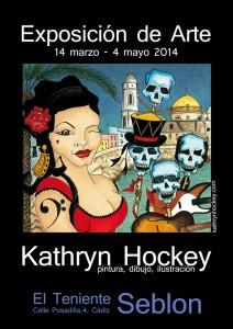 poster, art exhibition, el teniente seblon