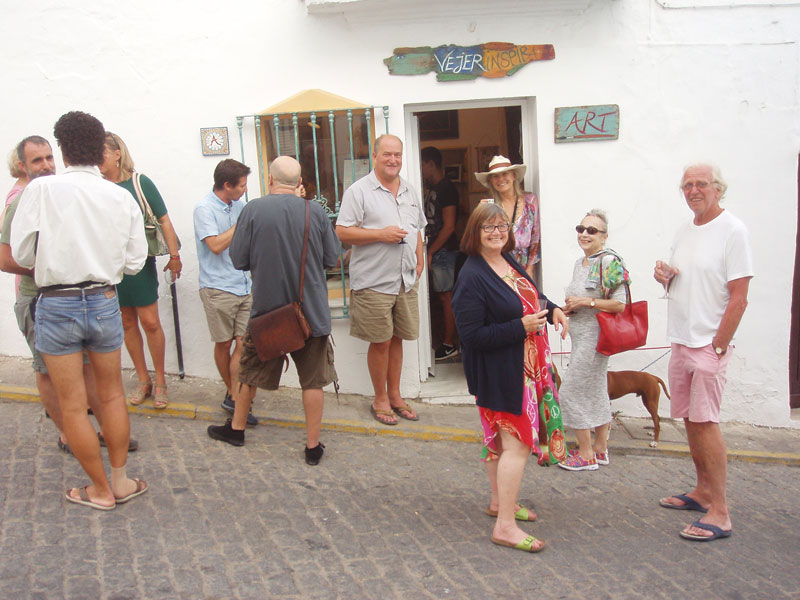 opening, vejer, art, gallery, shared, exhibition, space, inspira