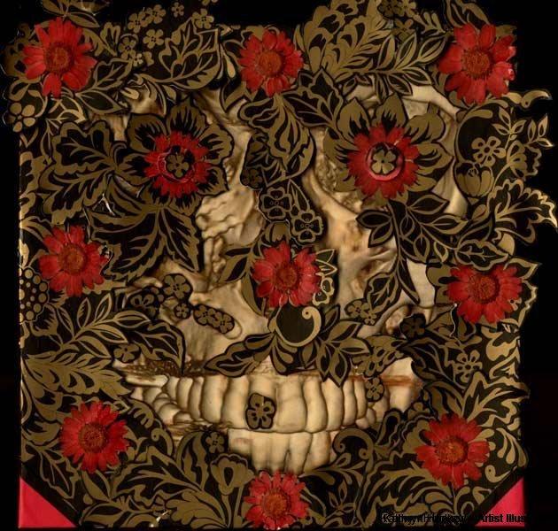 death-and-flowers-kathryn-hockey-artist-illustrator