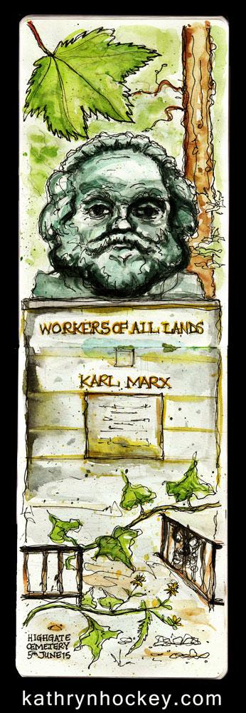 Karl-Marx-2-kathryn-hockey-artist-illustrator