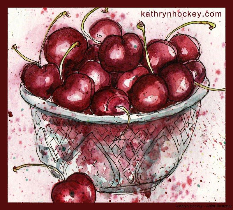 cherries-28.6.16-kathryn-hockey-artist-illustrator-web