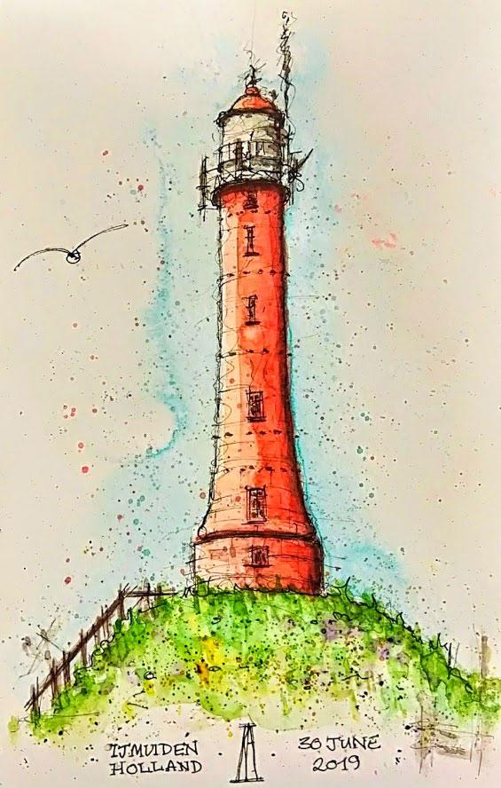 ijmuiden-lighthouse-kathryn-hockey-artist-illustrator-web