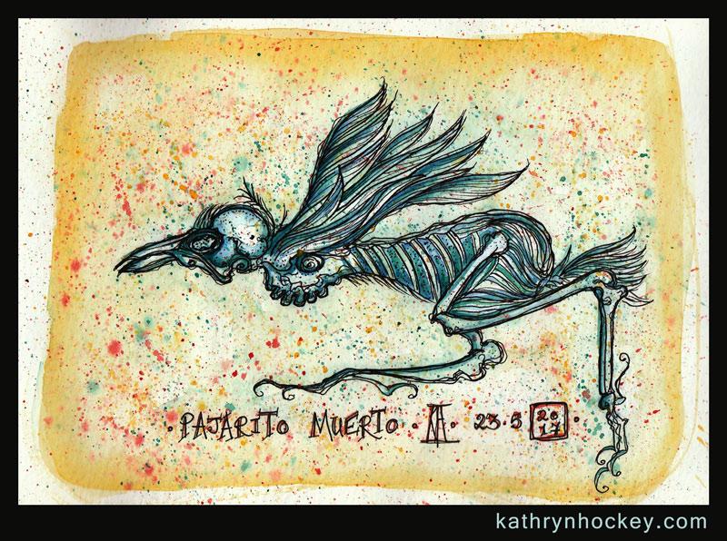 pajaro-muerto-kathryn-hockey-artist-illustrator-web