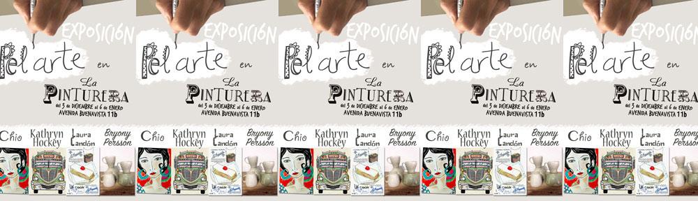 art exhibition, group show, la pinturera, hairdressing salon, paintings, jewelry, ceramics, vejer, vejer de la frontera